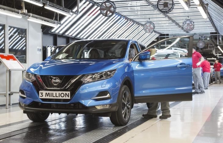 Nissan Qashqai 3 millionth 1 730x469 at 3 Millionth Nissan Qashqai Produced at Sunderland Plant