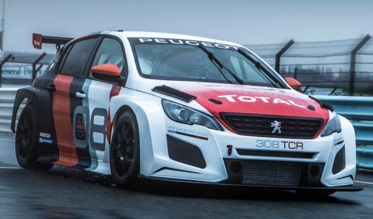 Peugeot 308 TCR 1 730x430 at 2018 Peugeot 308 TCR Race Car Unveiled