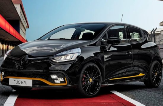 Renault Clio RS18 1 550x360 at Official: Renault Clio R.S.18 Limited Edition