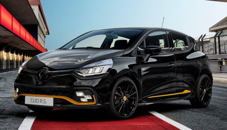 Renault Clio RS18 1 730x420 at Official: Renault Clio R.S.18 Limited Edition