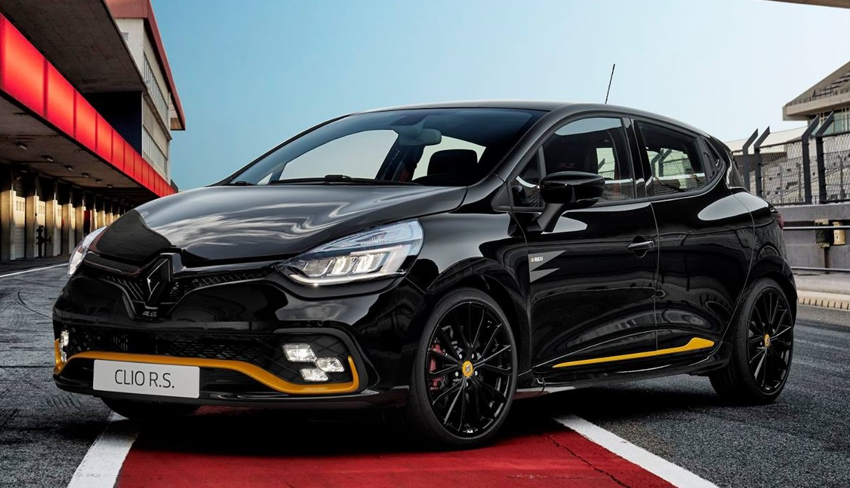 official renault clio r limited edition. Black Bedroom Furniture Sets. Home Design Ideas