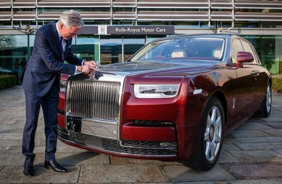 Rolls Royce Phantom 2018 550x360 at Rolls Royce Manchester Opens New Super Luxury Showroom