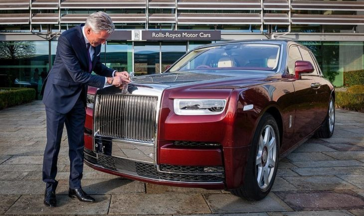 Rolls Royce Phantom 2018 730x434 at Rolls Royce Manchester Opens New Super Luxury Showroom