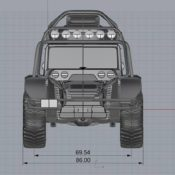 SCG Offroader 11 175x175 at Glickenhaus Expedition Vehicle to Set World Altitude Record
