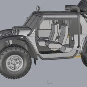 SCG Offroader 3 175x175 at Glickenhaus Expedition Vehicle to Set World Altitude Record
