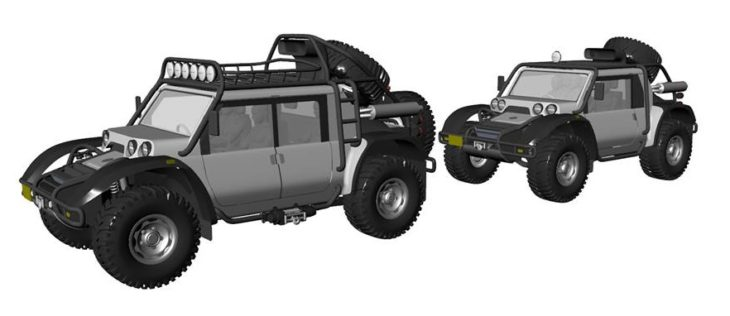 SCG Offroader 5 730x316 at Glickenhaus Expedition Vehicle to Set World Altitude Record