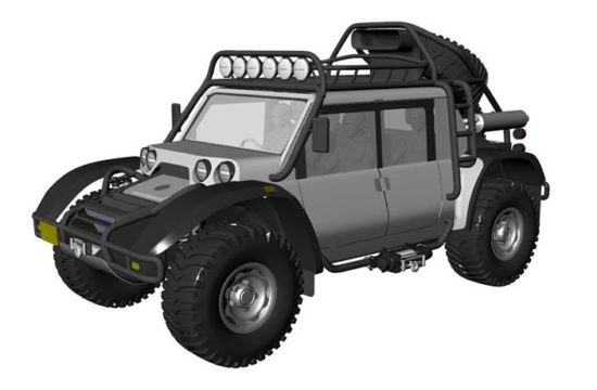 SCG Offroader 8 550x360 at Glickenhaus Expedition Vehicle to Set World Altitude Record