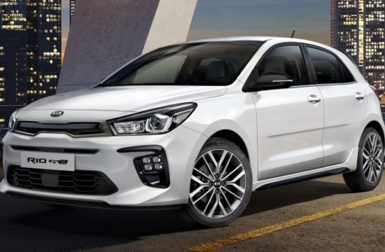 Small 10027 FIRSTKIARIOGT LINEIMAGESANDINFORMATIONREVEALED 550x360 at 2019 Kia Rio GT Line Revealed with Sporty Looks