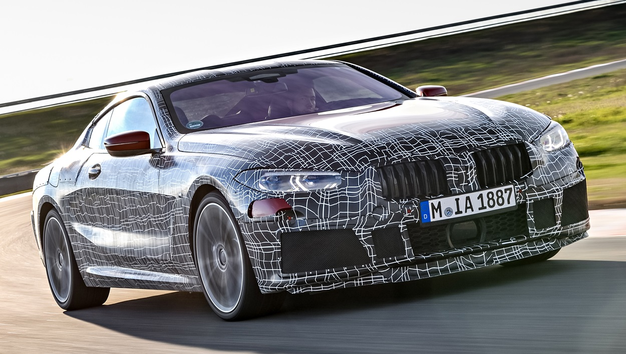 bmw 8 series coupe production bmw 8 series coupe undergoes dynamic testing