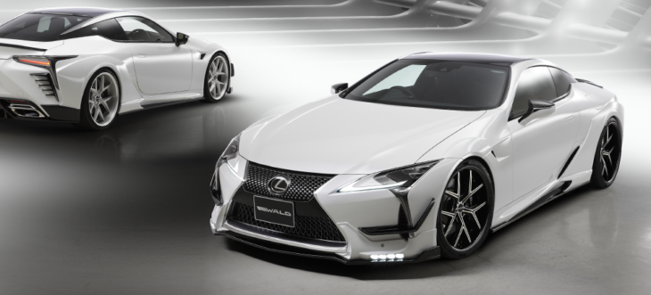 wald aero lc500 sportsline 001 730x331 at Wald Lexus LC Styling Kit Is a Work of Japanese Art