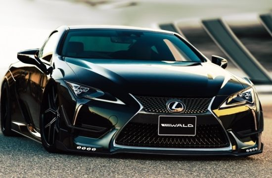 wald aero lc500 sportsline 002 550x360 at Wald Lexus LC Styling Kit Is a Work of Japanese Art
