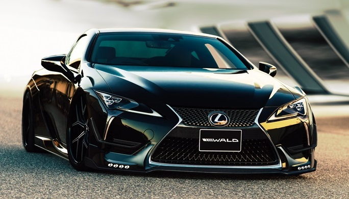 2019 Lexus Lc 500 Preview >> Wald Lexus LC Styling Kit Is a Work of Japanese Art