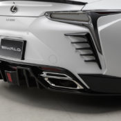 wald lc rear diffuser 175x175 at Wald Lexus LC Styling Kit Is a Work of Japanese Art