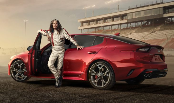 13502 Steven Tyler hits the racetrack in Kia s Super Bowl ad for the all new1 730x432 at Steven Tyler Stars in Kias Super Bowl LII Commercials