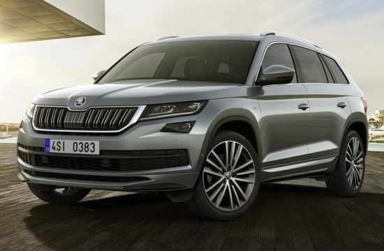 180215 SKODA KODIAQ LK FRONT 550x360 at Skoda Kodiaq L&K Range Topper Set for Geneva Debut