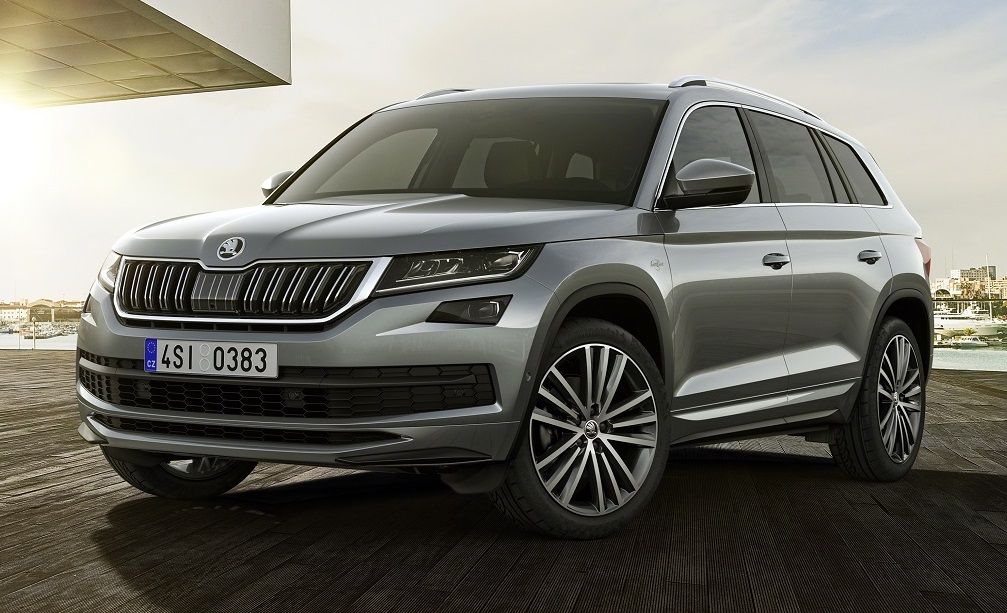 Skoda Kodiaq L Amp K Range Topper Set For Geneva Debut