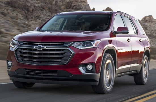 2018 Chevrolet Traverse RS 080 550x360 at 2018 Chevrolet Traverse RS   Details, Specs, Pricing