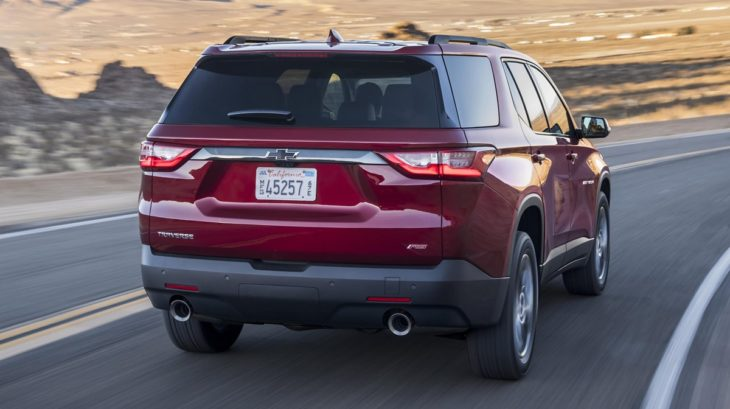 2018 Chevrolet Traverse RS 081 730x409 at 2018 Chevrolet Traverse RS   Details, Specs, Pricing