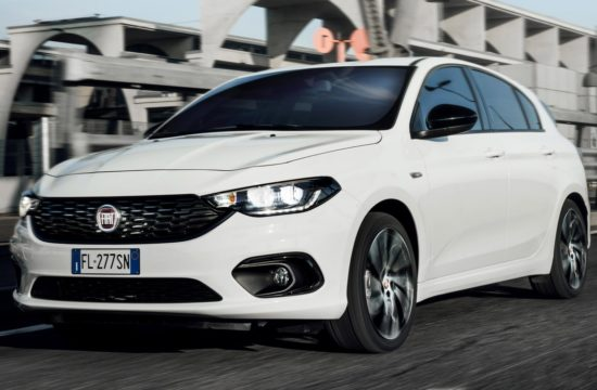 2018 Fiat Tipo S Design 0 550x360 at 2018 Fiat Tipo S Design Priced from £18,145 in the UK