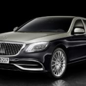 2018 Mercedes Maybach S Class 1 175x175 at 2018 Mercedes Maybach S Class Gets Cosmetic Upgrades