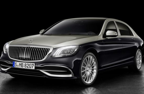 2018 Mercedes Maybach S Class 1 550x360 at 2018 Mercedes Maybach S Class Gets Cosmetic Upgrades