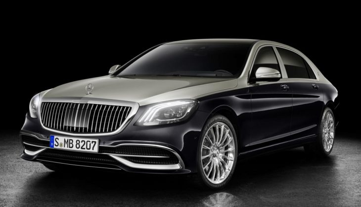 2018 Mercedes Maybach S Class 1 730x420 at 2018 Mercedes Maybach S Class Gets Cosmetic Upgrades