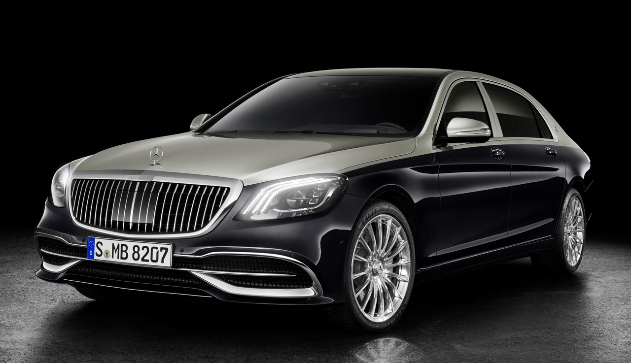 2018 mercedes maybach s class gets cosmetic upgrades. Black Bedroom Furniture Sets. Home Design Ideas