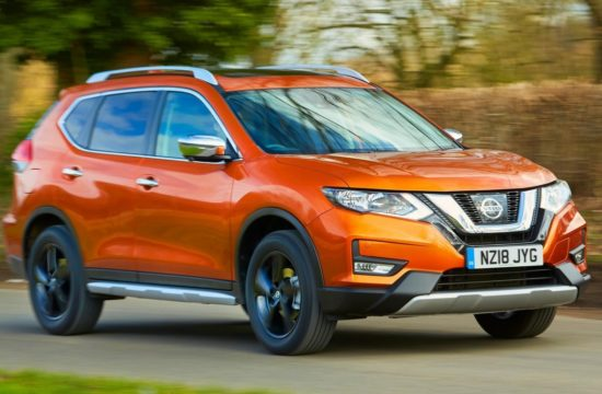 2018 Nissan X Trail Platinum SV 0 550x360 at 2018 Nissan X Trail Platinum SV Launches in the UK