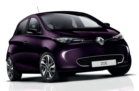 2018 Renault ZOE 1 550x360 at 2018 Renault ZOE EV Gets a Performance Boost