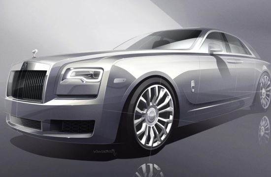2018 Rolls Royce Silver Ghost Collection 1 550x360 at 2018 Rolls Royce Silver Ghost Collection Has Real Silver In it