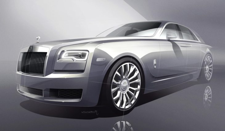 2018 Rolls Royce Silver Ghost Collection 1 730x425 at 2018 Rolls Royce Silver Ghost Collection Has Real Silver In it