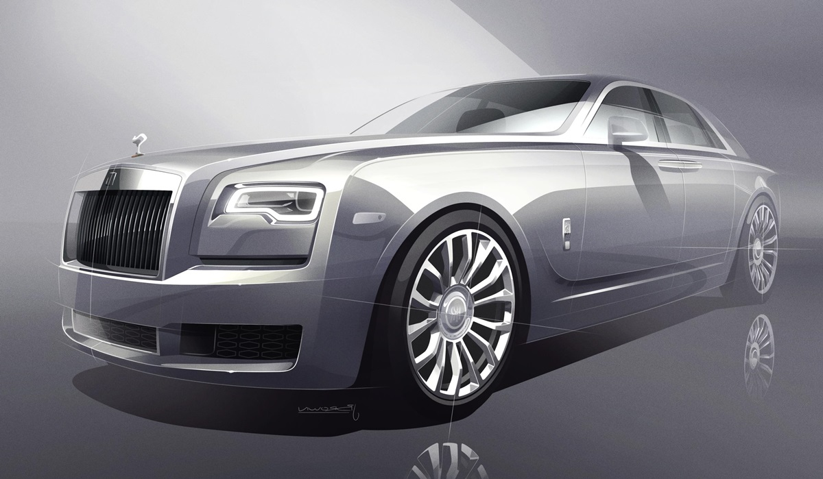 2018 rolls royce silver ghost collection has real silver in it. Black Bedroom Furniture Sets. Home Design Ideas