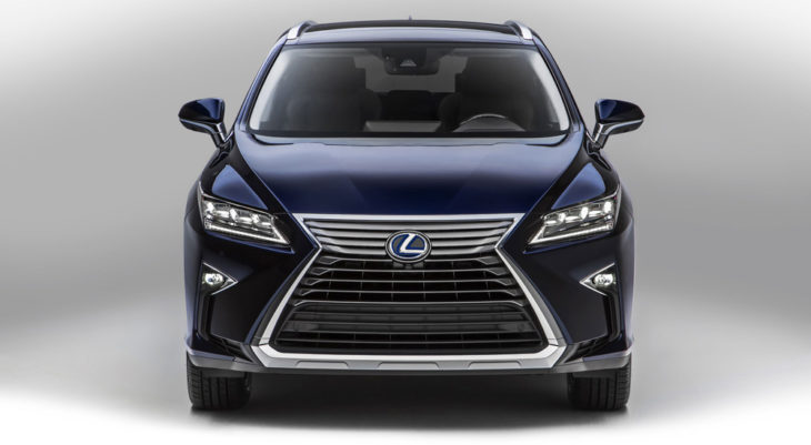 2018 rx 450hl 730x401 at Pricing Confirmed for 2018 Lexus RX 450hL Three Row SUV
