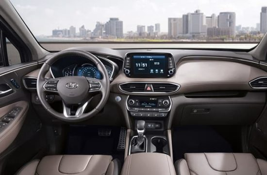 2019 Hyundai Santa Fe Interior 0 550x360 at 2019 Hyundai Santa Fe Interior Raveled   First Look
