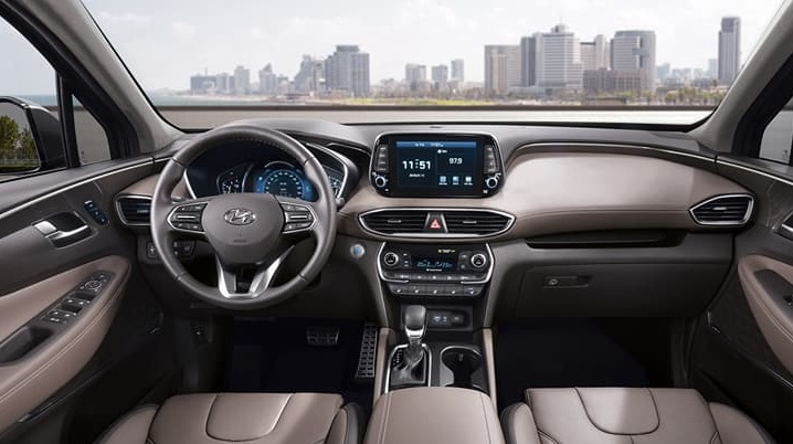 Beautiful 2019 Hyundai Santa Fe Interior 0 At 2019 Hyundai Santa Fe Interior Raveled  First Look