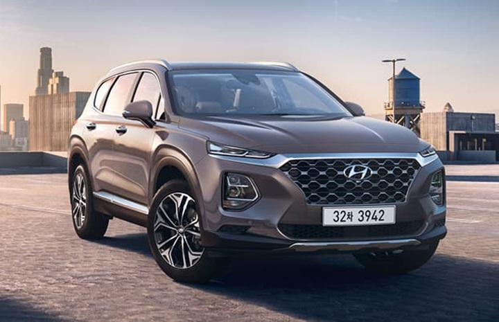 2019 Hyundai Santa Fe Interior 1 at 2019 Hyundai Santa Fe Interior Raveled   First Look