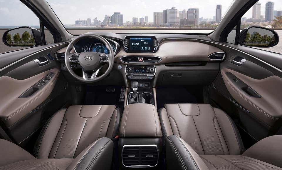 2019 Hyundai Santa Fe Interior Raveled First Look