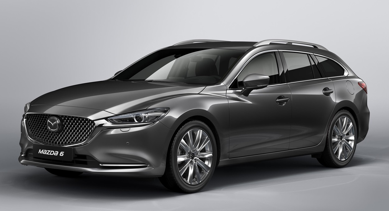 2019 mazda6 tourer wagon confirmed for geneva debut. Black Bedroom Furniture Sets. Home Design Ideas