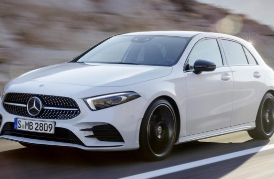 2019 Mercedes A Class top 550x360 at 2019 Mercedes A Class Is a Mini CLS with S Class Features