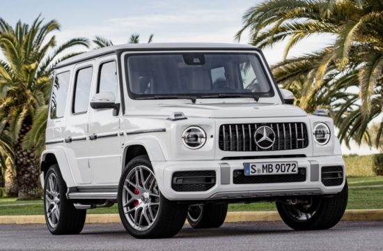 2019 Mercedes AMG G63 1 550x360 at 2019 Mercedes AMG G63 Goes Official with 585 hp