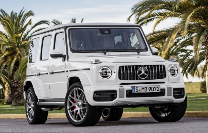2019 Mercedes AMG G63 1 730x468 at 2019 Mercedes AMG G63 Goes Official with 585 hp
