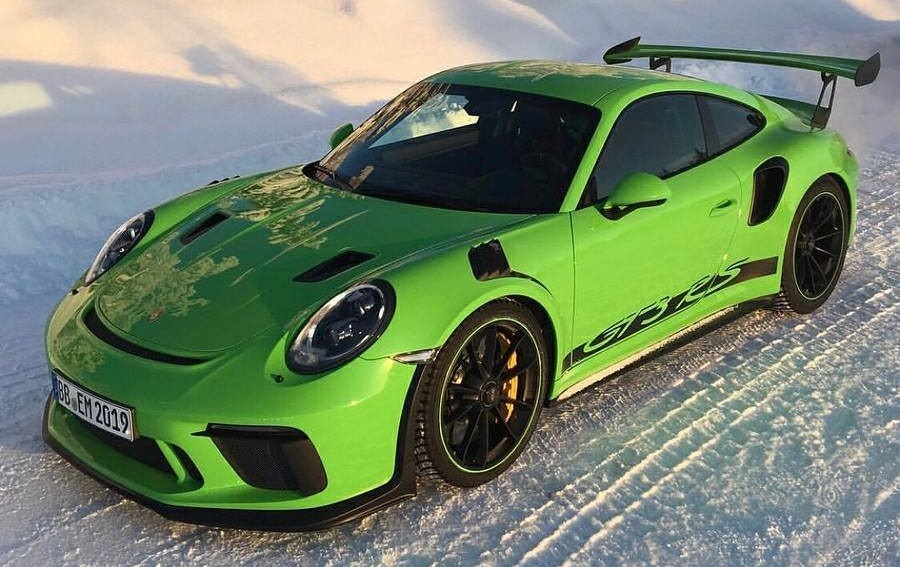 2019 porsche 911 gt3 rs goes official with 520 hp. Black Bedroom Furniture Sets. Home Design Ideas