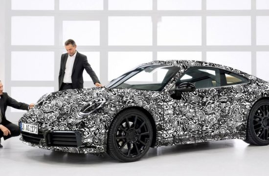 2019 Porsche 911 type 1 550x360 at 2019 Porsche 911 (992) Teased for the First Time