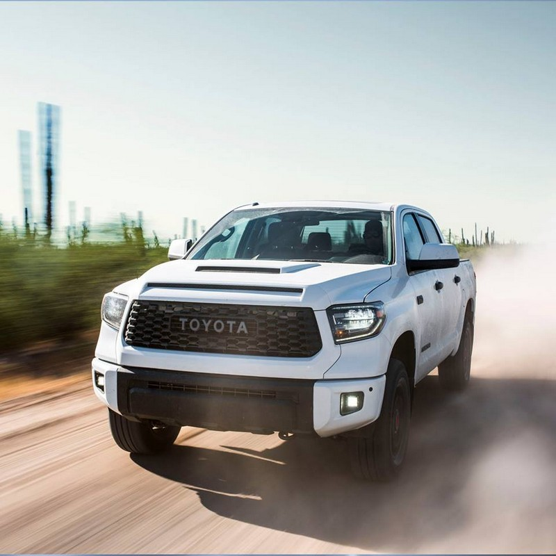 Blacked Out Corolla >> 2019 Toyota TRD Pro Series: Tacoma, 4Runner, Tundra