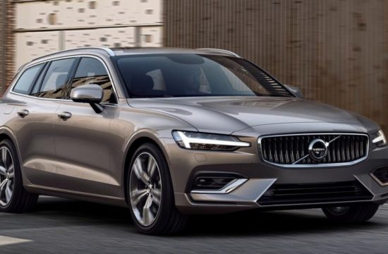2019 Volvo V60 1 550x360 at 2019 Volvo V60 Revealed with Superb Looks & Technology