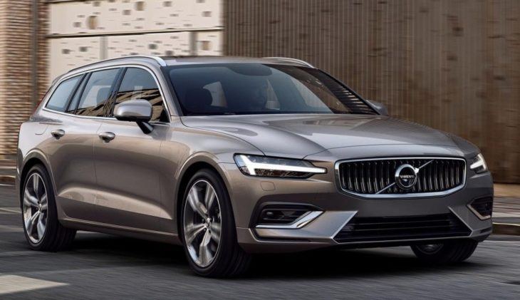 2019 Volvo V60 1 730x421 at 2019 Volvo V60 Revealed with Superb Looks & Technology