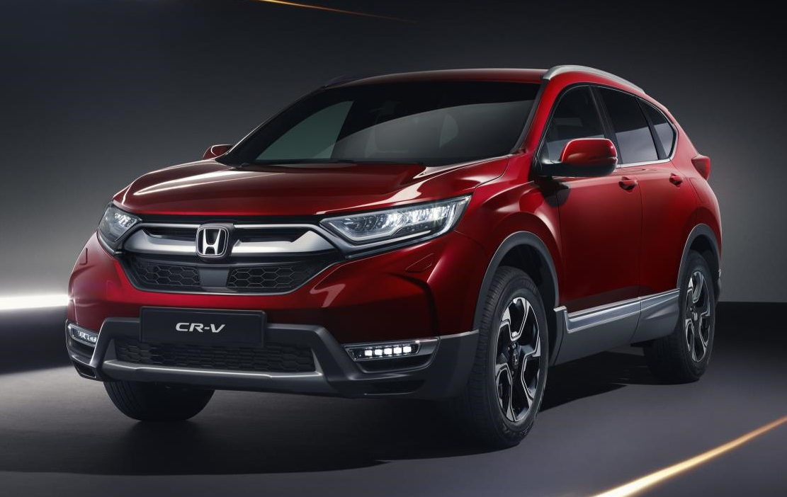 2019 honda cr v revealed ahead of geneva debut. Black Bedroom Furniture Sets. Home Design Ideas