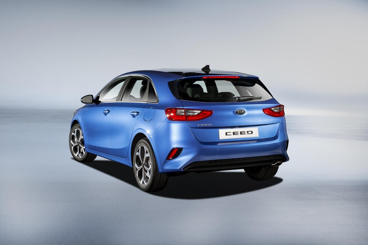 2019 kia ceed unveiled with level 2 autonomy. Black Bedroom Furniture Sets. Home Design Ideas