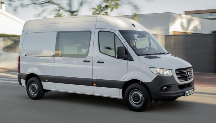 2019 mercedes sprinter 0 730x417 at 2019 Mercedes Sprinter Is a Jack of All Trades