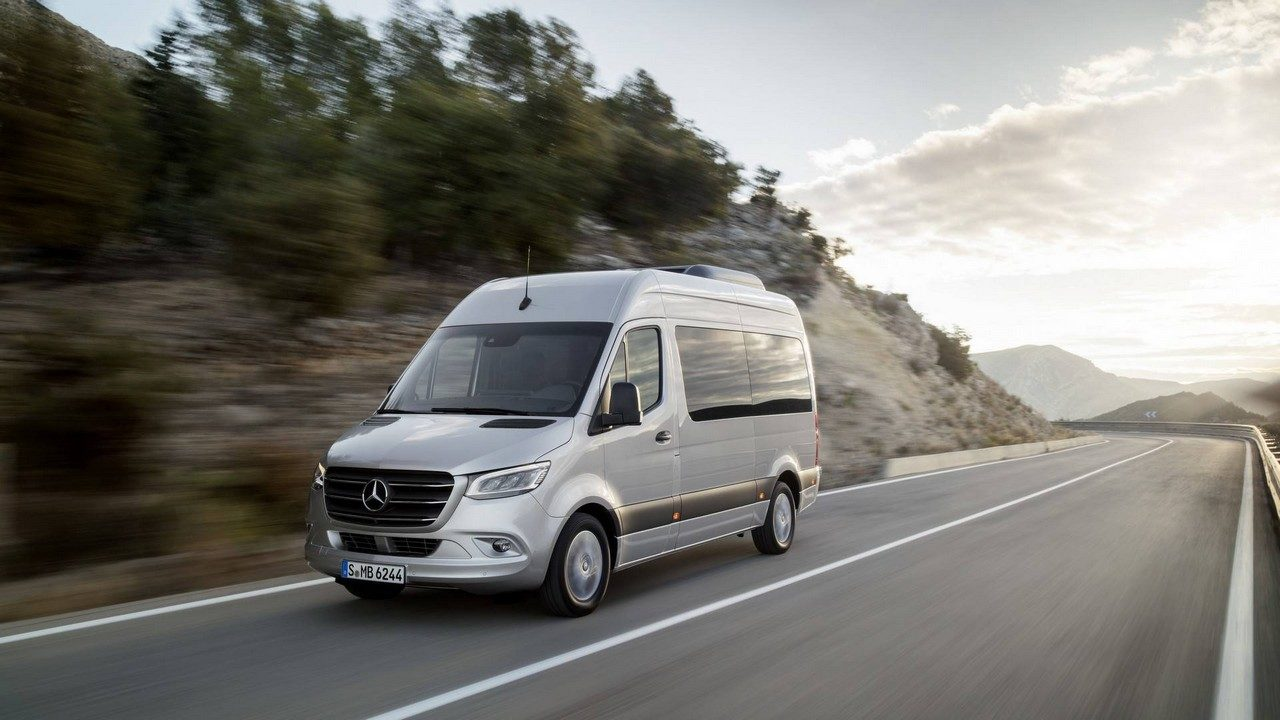 2019 mercedes sprinter is a jack of all trades for Mercedes benz van